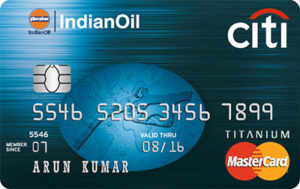 Citibank Indian Oil Credit Card