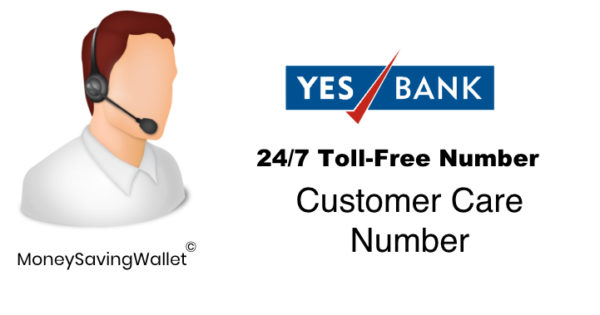 yes bank toll free number customer care